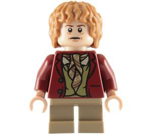 LEGO Bilbo Baggins with Dark Red Coat Minifigure