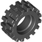 LEGO Small Tire Ø15 X 6mm with Offset Tread (without Band Around Center of Tread) (3641)