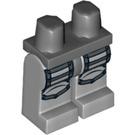 LEGO Heroic Knight Minifigure Hips with Medium Stone Gray Legs (3815 / 11574)