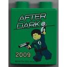 LEGO Duplo Brick 1 x 2 x 2 with Agents After Dark 2009 Legoland Windsor without Bottom Tube (4066)