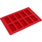 LEGO Ice Cube Tray - Bricks (Red) (852768)