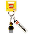 LEGO Rock Band Promo Key Chain Minifig 2 (852890)